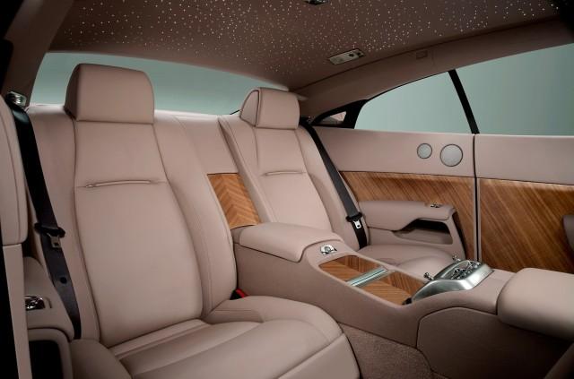Rolls Royce Wraith Interiors