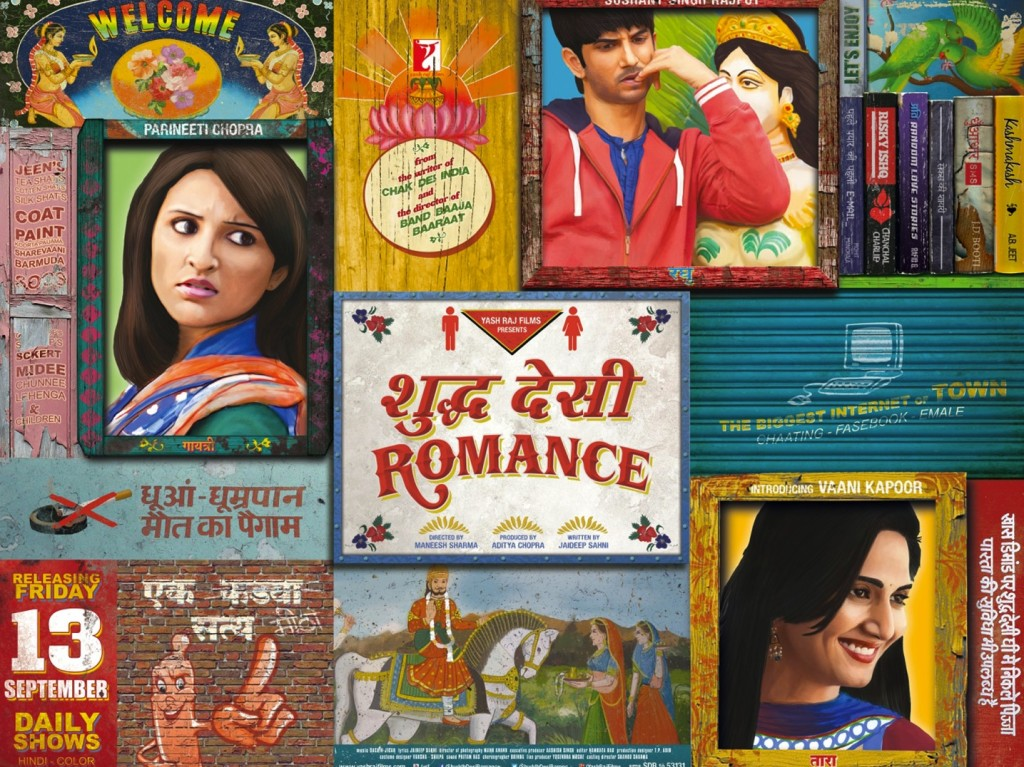 Shuddh-Desi-Romance-HD movie wallpaper 1 movie poster