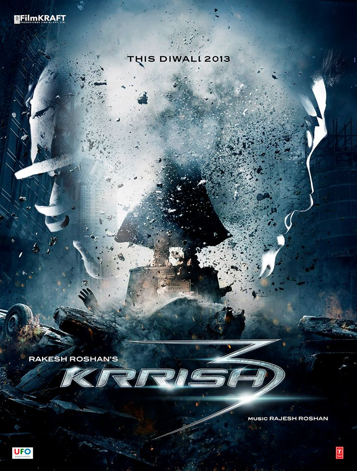 Watch Official Movie Trailer: Krrish 3