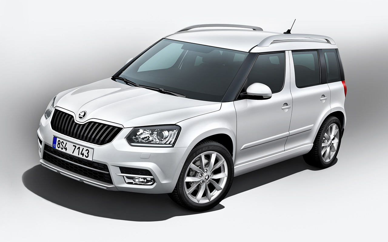 The New Škoda Yeti- Covers Off At The Frankfurt Motor Show!