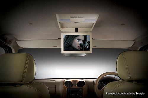 Mahindra Scorpio Special Edition DVD player