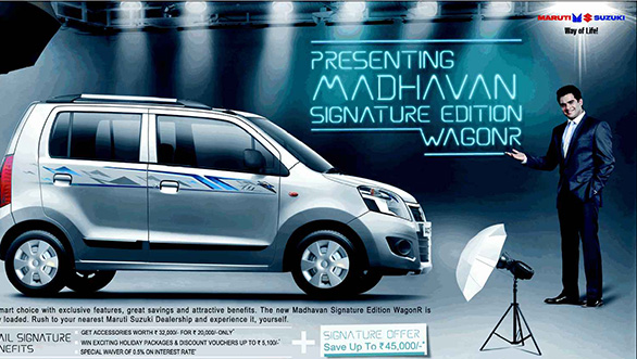 Maruti Suzuki 'Madhavan Signature Edition' Wagon R Launched- Accessories Overloaded!
