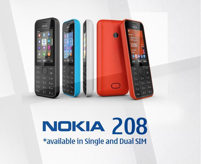 Nokia 208 INR
