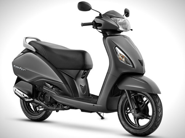 TVS Jupiter 110cc Priced At Rs.44,200 Launched