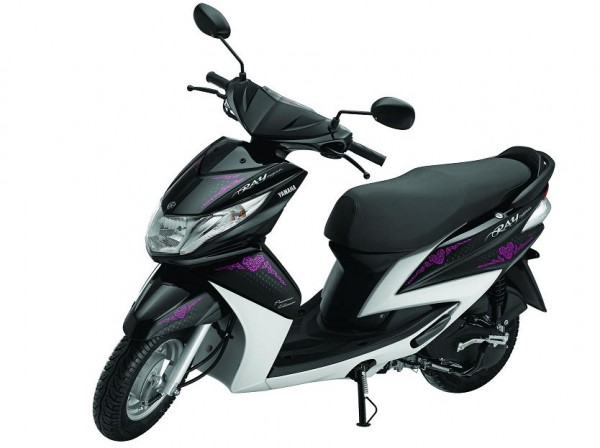 Yamaha Ray Precious Edition Launched. Price In India Rs 48605