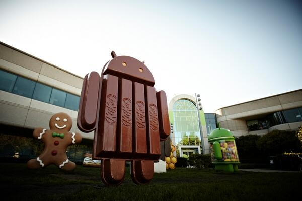 Google and Nestlé Announce Android OS 4.4. All Hail 'Android KitKat'!