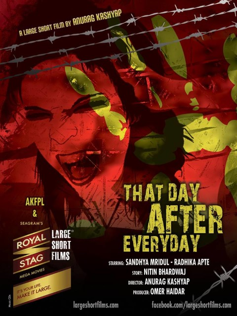 Watch: Trailer Of Anurag Kashyap's Large Short Film 'That Day After Everyday'