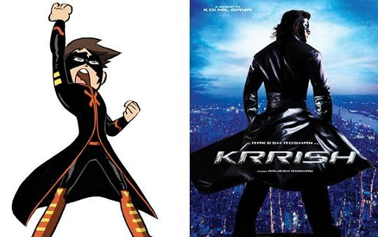 First Look Of 'Kid Krrish' Unveiled- Cartoon Network Premiere On 2nd October 2013.