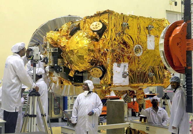 ISRO's Mars Orbiter Mission Worth Rs 450 Crore Approved, Launch On October 28, 2013.
