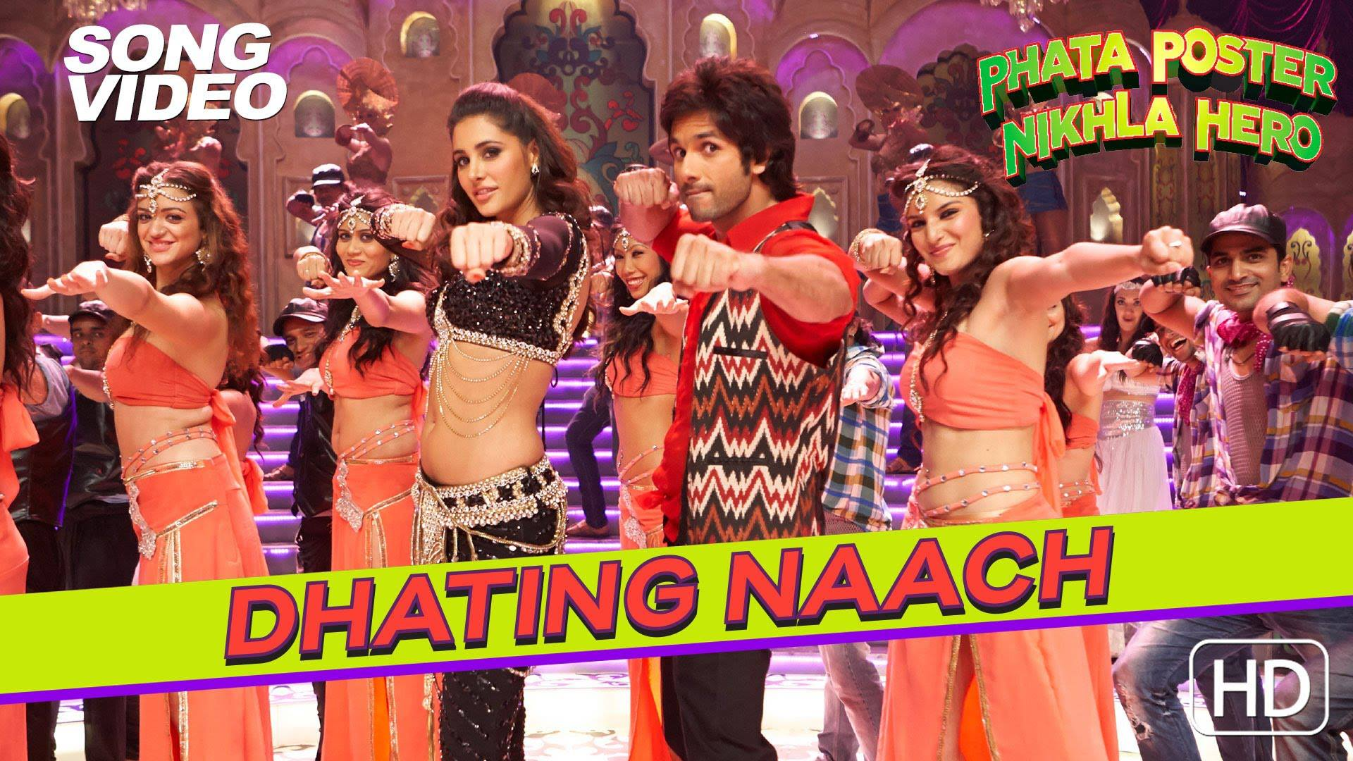 Watch: Nargis Fakhri's Item Song 'Dhating Naach' From 'Phata Poster Nikla Hero'