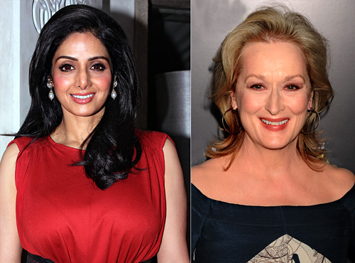 Sridevi's Hollywood Debut May Pride Her Alongside Meryl Streep!