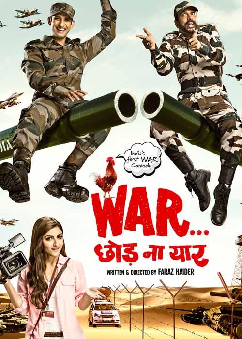 war chhod na yaar indias first war comedy