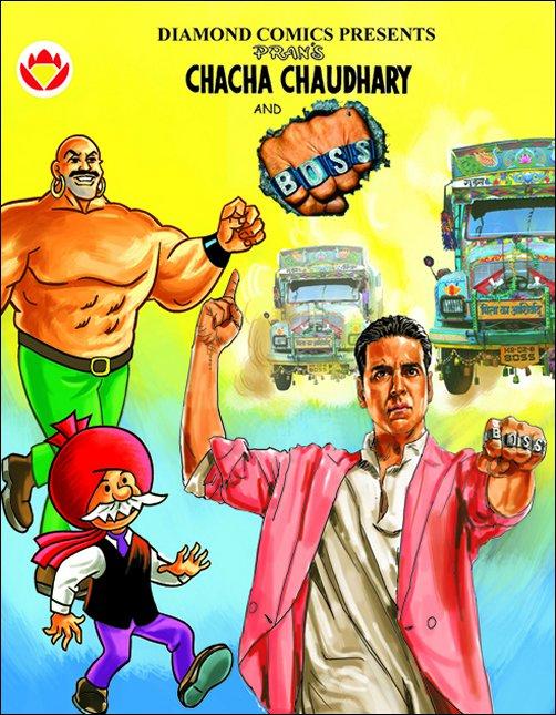 Akshay Kumar Boss Chacha Chaudhary