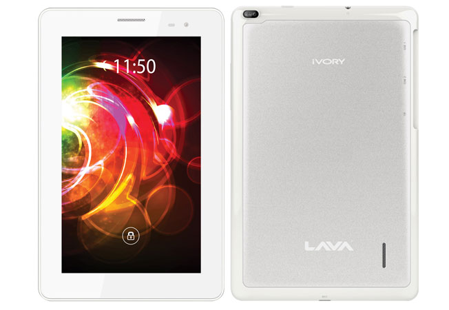 LAVA E-Tab Ivory Launched In India For Price Rs.10,199: Dual-Core Processor, Android 4.1