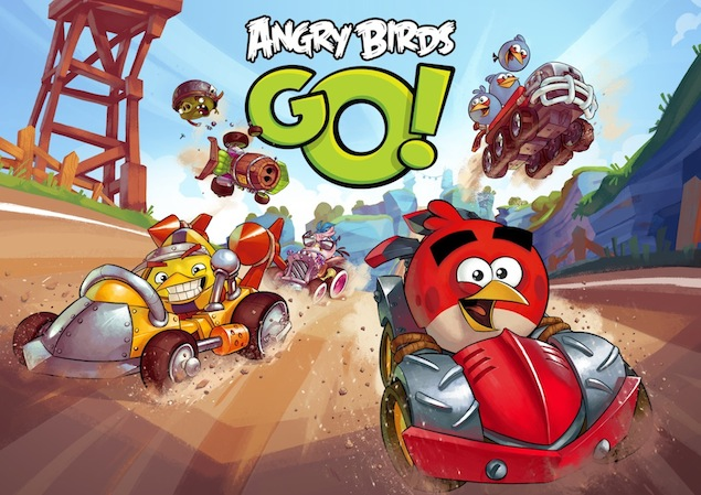 Rovio's 'Angry Birds Go!' Game App Launching December 11 For Free. Watch Trailer.