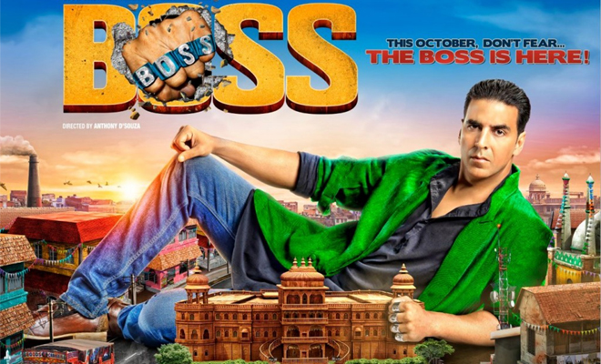 BOSS | Movie Review- Akshay Kumar Fails To Float This Sinking Ship.