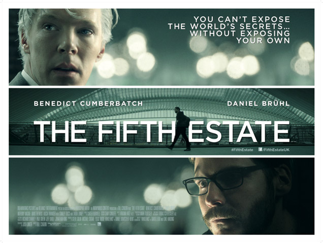 The Fifth Estate | Movie Review- Not Even Half As Good As The Actor Or The Character