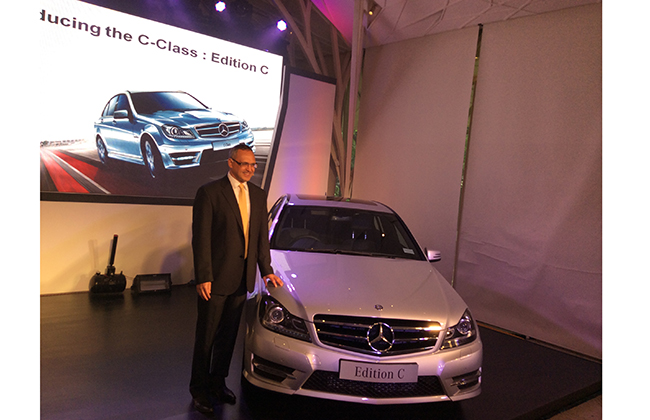 Mercedes-Benz C Class Celebratory Edition Launched – Price In India Rs 39.16 Lakh