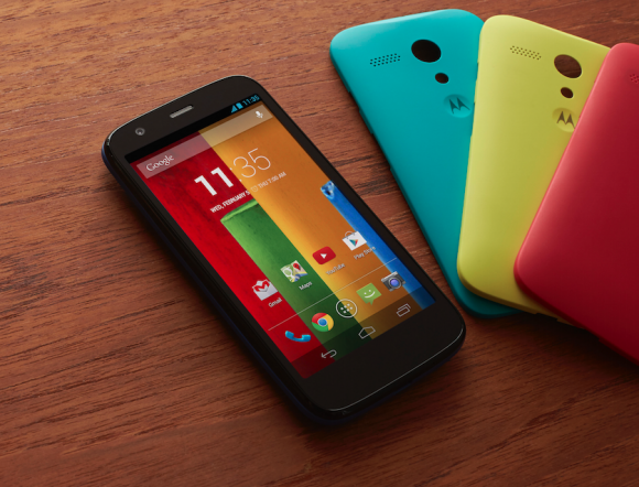 Moto G Too Come With Android 4.4