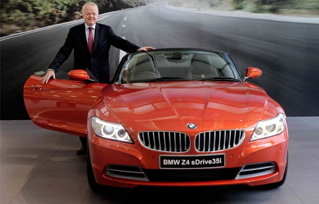 2014 Bmw Z4 Facelift Roadster Launched In India For Rs 68