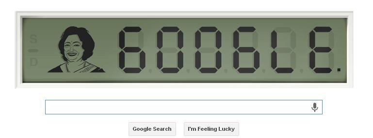 Indian Mathematician Shakuntala Devi's 84th Birthday Celebrated In a Google Doodle