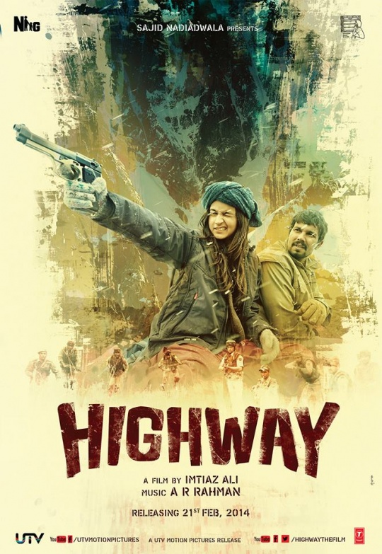 Watch – Highway Trailer Starring Alia Bhatt & Randeep Hooda In Imtiaz Ali's Feb 2014 Release