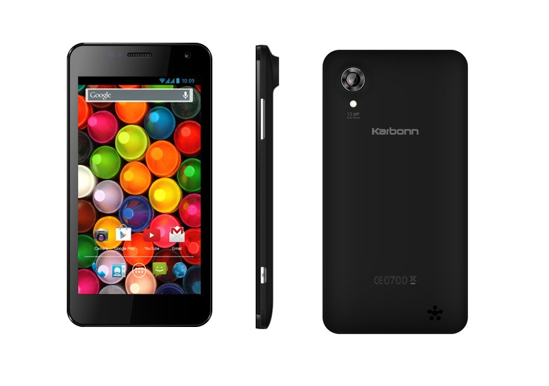 Karbonn Titanium S4 With 13MP Camera Shows Up On Flipkart: Price Rs.15990