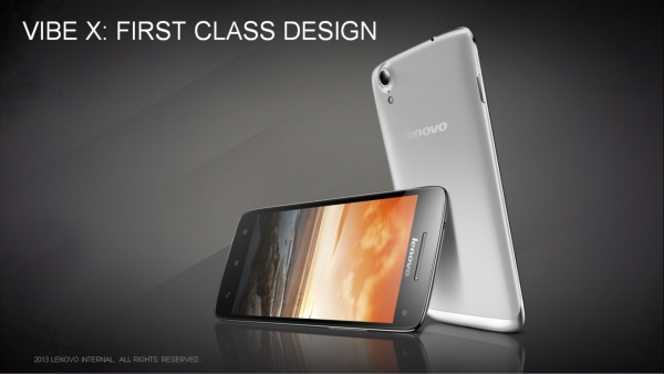 Lenovo Vibe X Now In India. Price Rs.25,999: 13MP Camera, Quad-Core Processor