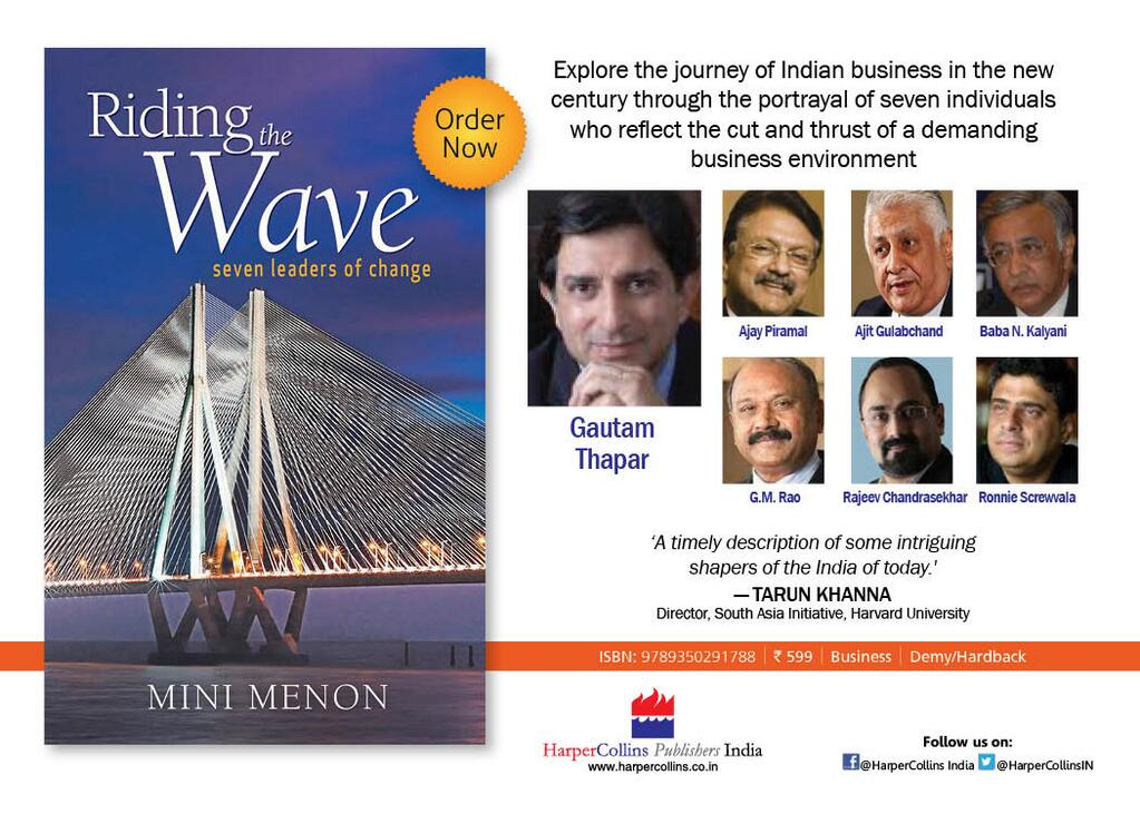'Riding The Wave' – By Mini Menon | Book Review