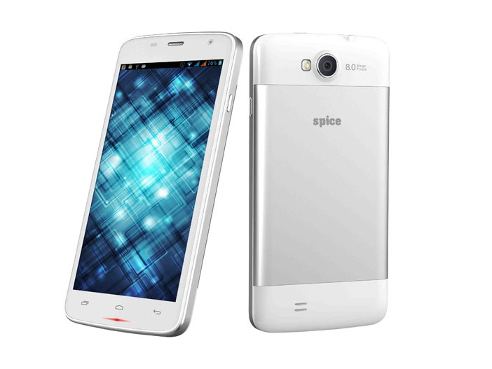 Spice Smart Flo Mettle 5X Launched For Price Rs.6,499: 8MP Camera, Android 4.2