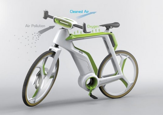 Photosynthesis Bike That Cleans Air While You Ride. This Is So Much Win For The Lungs.