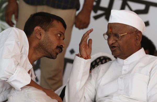 arvind kejriwal anna hazare