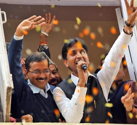 arvind kejriwal wins elections