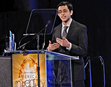 Indian American MIT Freshman Saumil Bandyopadhyay Wins 2013 Ingenuity Award For Modernizing Nanotechnology