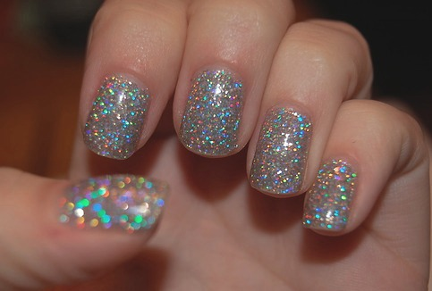 Glitter Nail-Polish Against Physical Data Tampering – Highly Effective