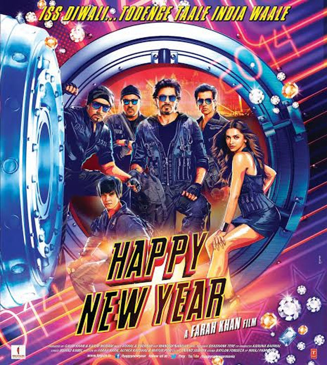 Happy New Year Poster Out: Can Shah Rukh And Deepika Recreate The Magic?
