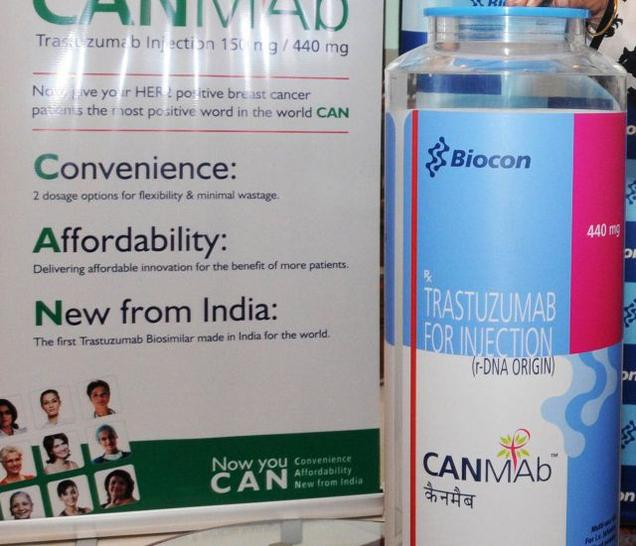 Breast Cancer Drug, 'CANMAb', by Biocon & Malyan To Hit Market Next Month