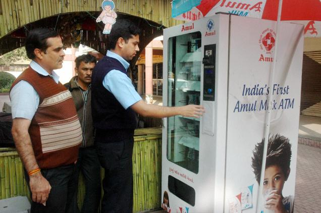 India's First Milk ATM Launched by Amul In Gujarat