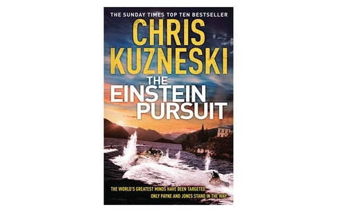 'The Einstein Pursuit' by Chris Kuzneski | Book Review