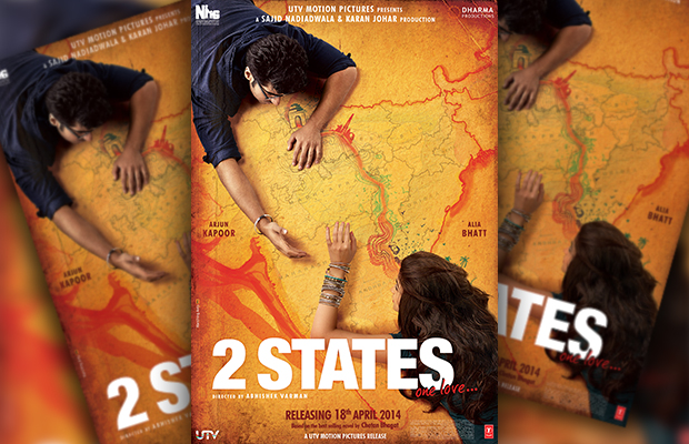"Watch : ""2 States"" Official Theatrical Trailer Starring Arjun Kapoor And Alia Bhatt"