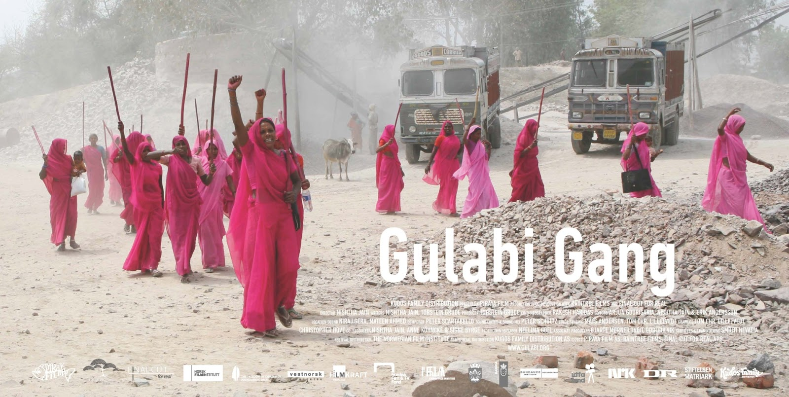 Watch : 'Gulabi Gang – The Documentary' Official Theatrical Trailer. Release Date 21st Feb.