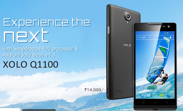 XOLO Q1100 Shows Up On Company's Website: Price, Specs And More
