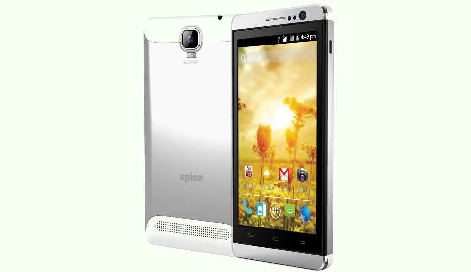 Spice Stellar Mettle Icon Mi-506 Available For Rs.6999: 5-Inch Display, Dual-Core Processor