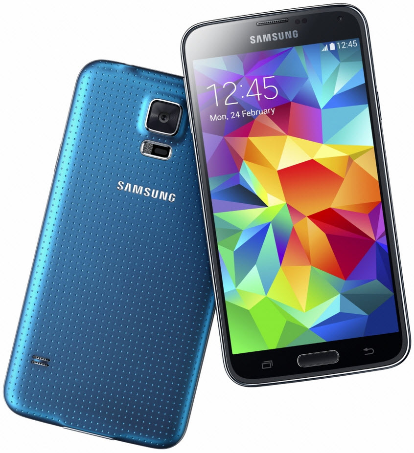 Samsung Galaxy S5 Unveiled – 5.1″ Display, Android 4.4 KitKat