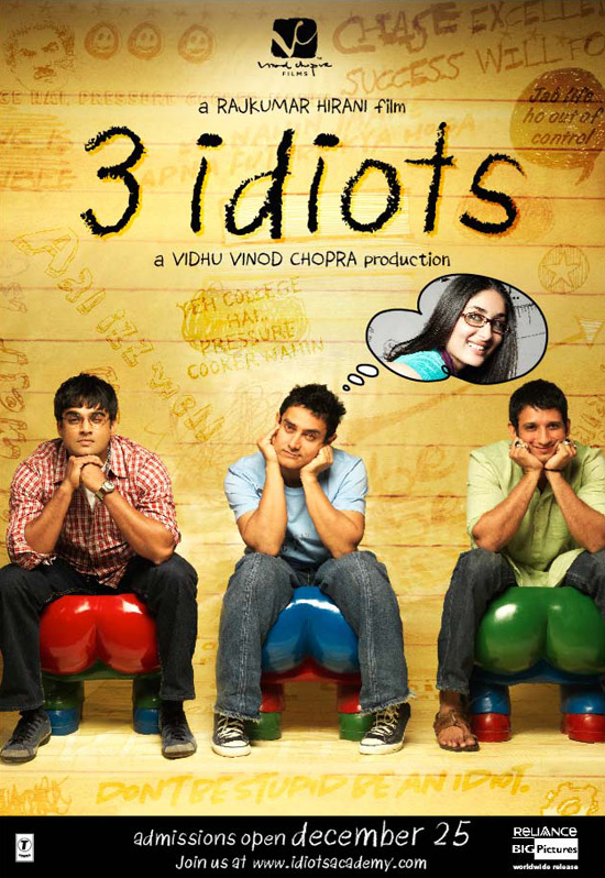 3 Idiots.One of Indias Most Iconic Movies