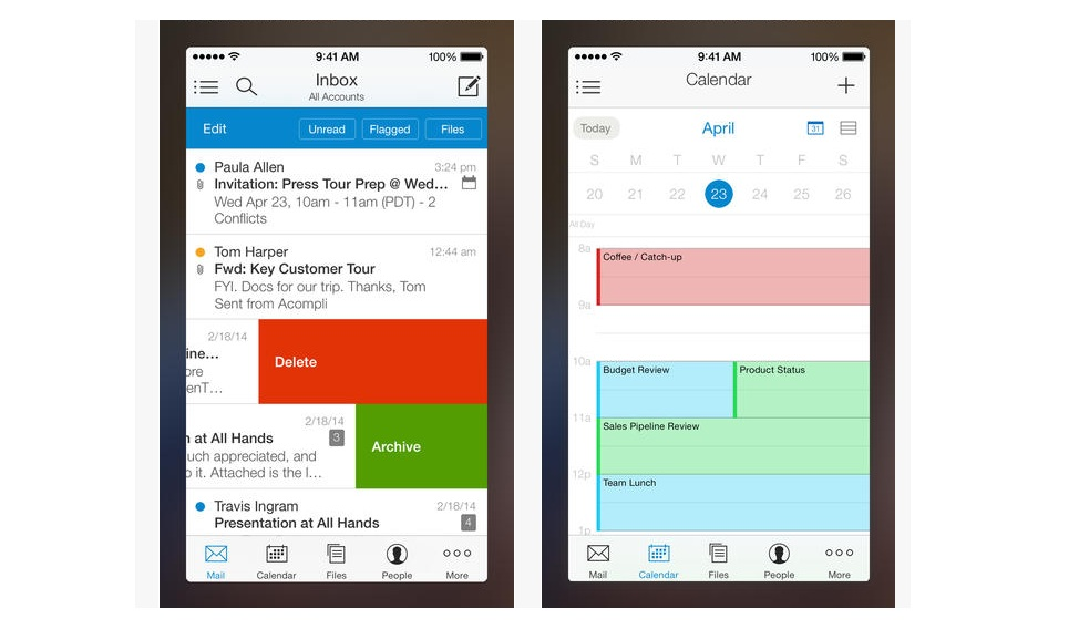 Acompli's Email App Available On App Store: Email On Mobile Gets Convenient