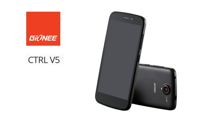 Gionee CTRL V5 Now In India. Price Rs.12,999: 8MP Camera, Quad-Core Processor