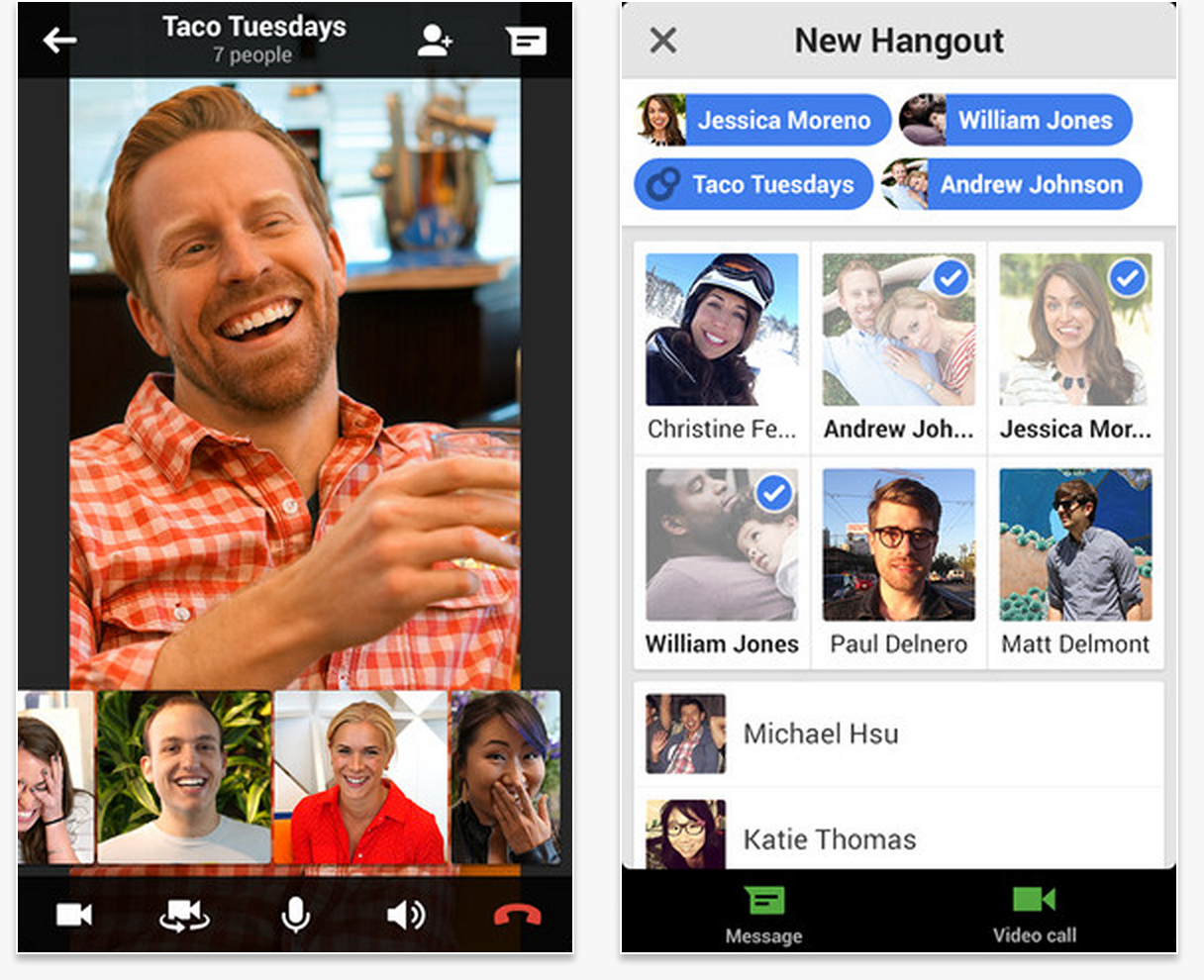 Google Hangout Update: Merges SMS With Hangout Conversations