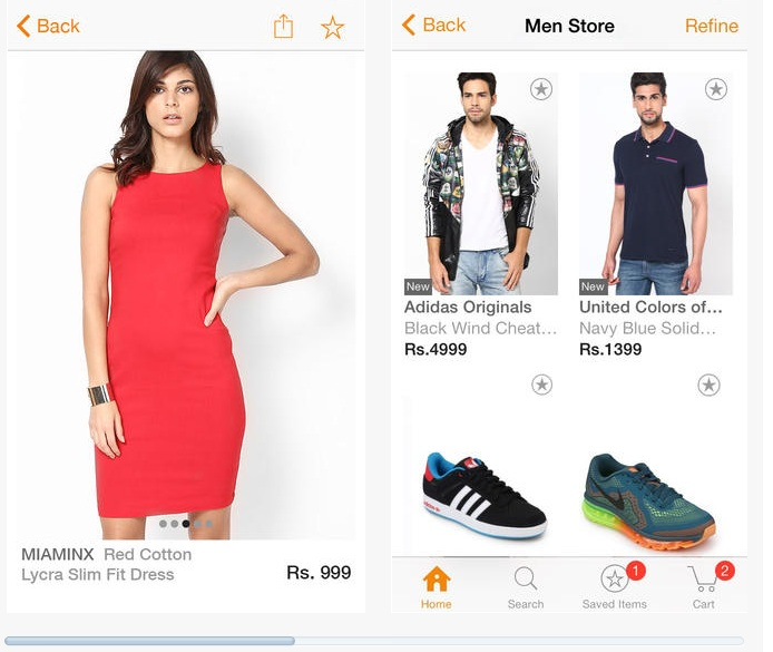 Jabong Launches Mobile Apps For Android And iOS Platforms