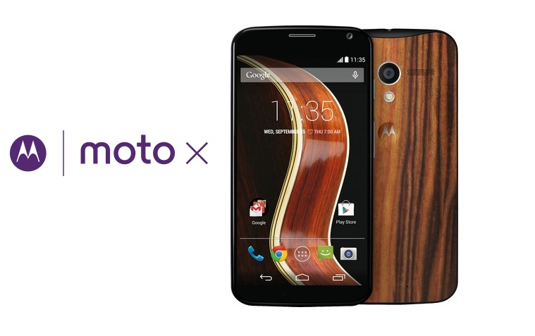 Moto X Now With A Special Walnut Finish. Price Rs.25999